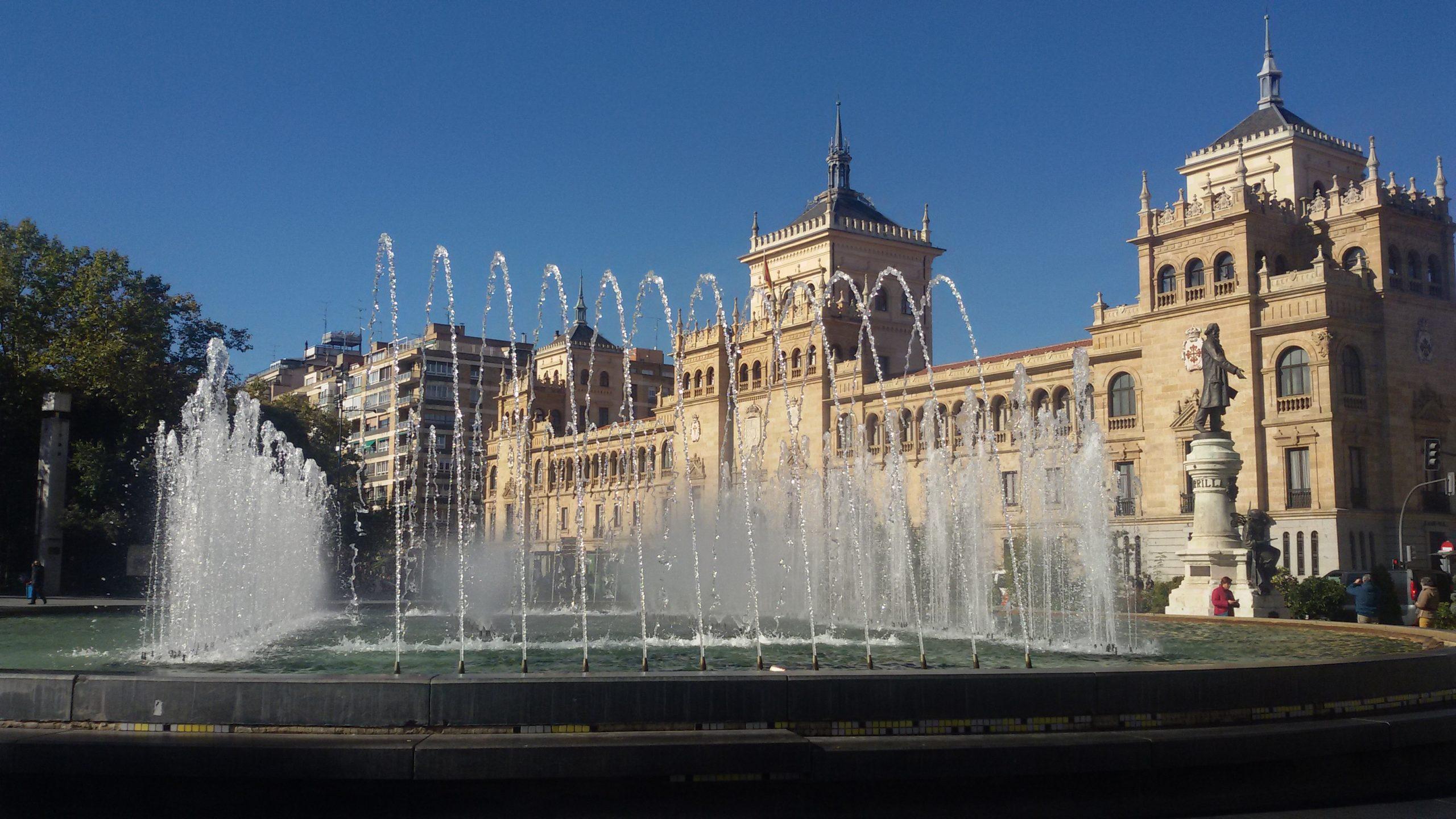 Plaza Zorrilla junto Despacho Abogado Alvaro Rizo